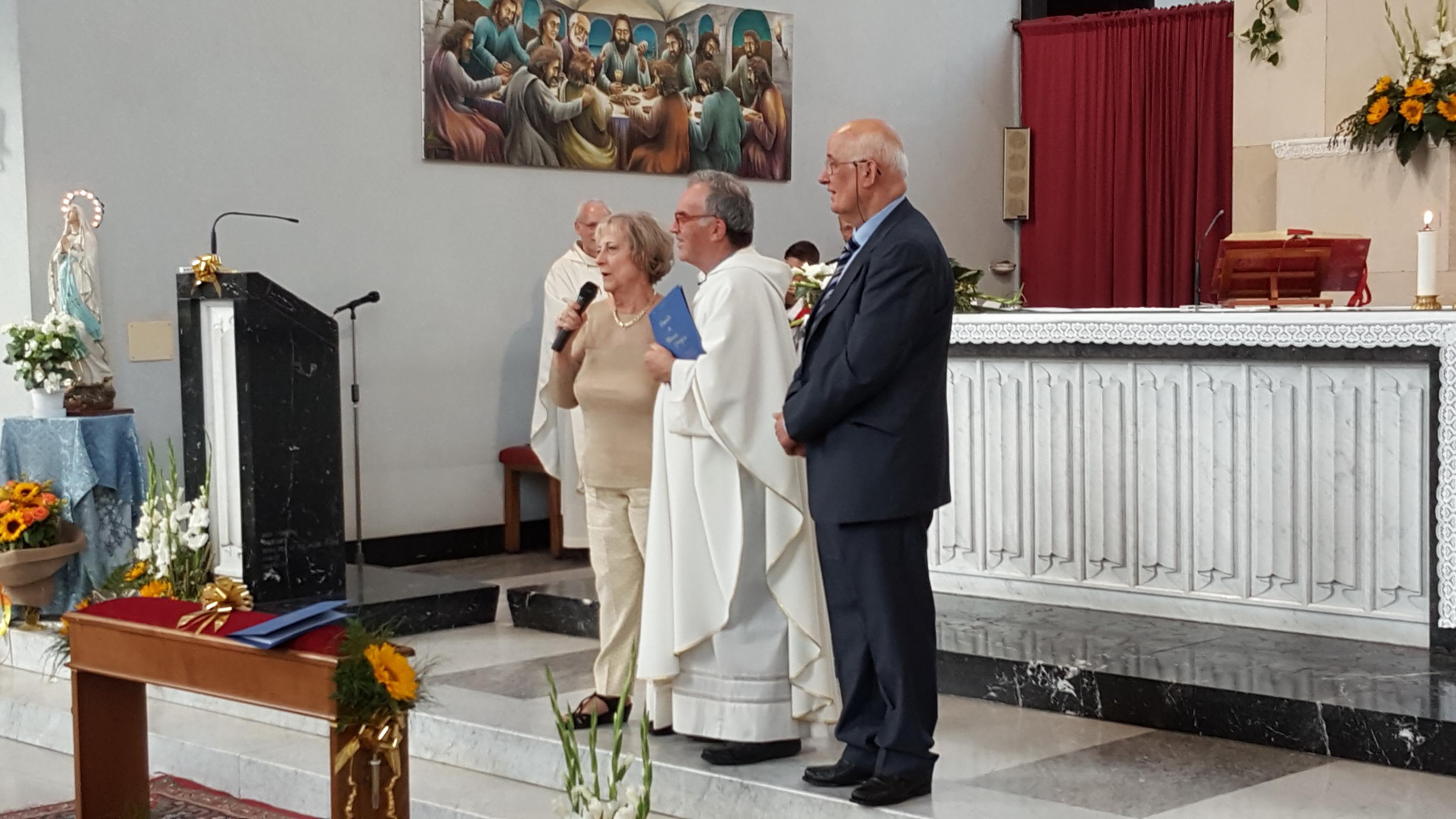500 Anniversario Di Matrimonio Omelia.Cinquantesimo Di Matrimonio Di Sante E Maria Grazia