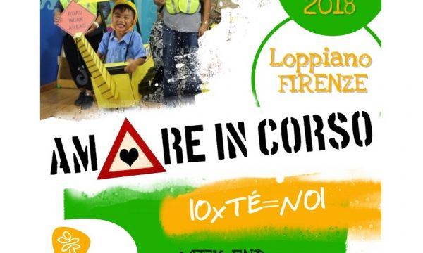 """""""Amore IN CORSO. IO x TE=NOI""""                            Giovani coppie a Loppiano dal 25 al 27 maggio 2018"""