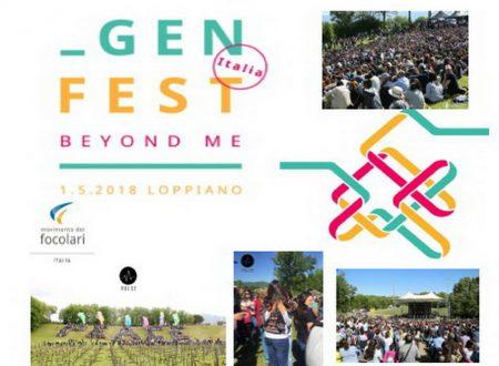 GEN FEST ITALIA – BEYOND ME 2018 – A Loppiano (FI) 1° Maggio