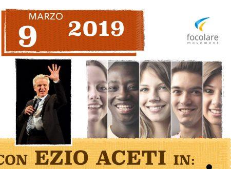 EZIO ACETI A GENOVA IL 9 MARZO 2019 presso l'Istituto Don Bosco di Sampierdarena