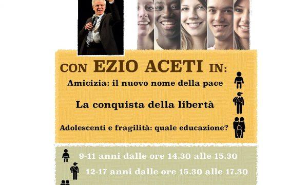 Ezio Aceti a Genova con genitori, bambini e ragazzi il 9 marzo