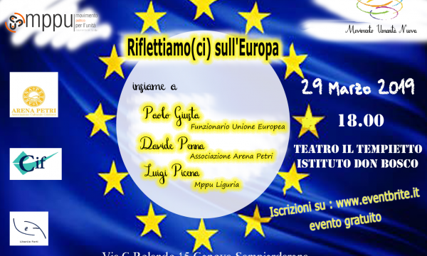 UNITA' POLITICA E UNIONE EUROPEA