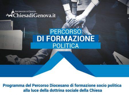 PERCORSO DI FORMAZIONE POLITICA DIOCESI DI GENOVA – Anno 2019/2020