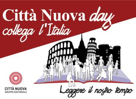 """""""CN day"""": Città  Nuova Day 2019 in streaming per l'Italia sabato 19.10.2019"""