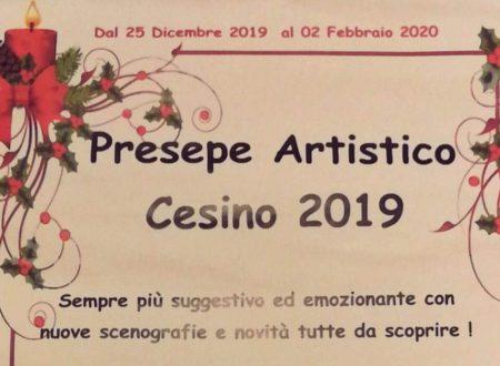 NATALE 2019: PRESEPE ARTISTICO DI CESINO (GENOVA)