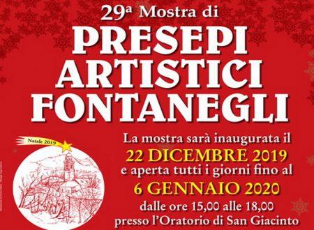 Natale 2019: Ventinovesima Mostra di Presepi Artistici a Fontanegli (Genova)