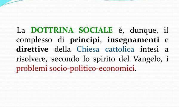 SOMMARIO SINTESI DELLA DOTTRINA SOCIALE CHIESA – di Paolo Venzano