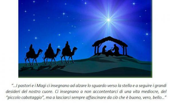 PENSIERI DI VITA: I pastori e i Magi ci insegnano ad alzare lo sguardo verso la stella…